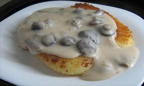 Рецепт грибного соуса из сушеных грибов