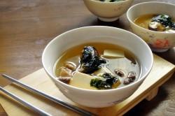 Классический суп из белых грибов