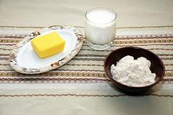 Масло и мука