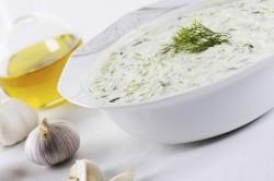 Чесночный соус для маринования груздей