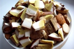 Подготовка грибов к приготовлению блюда